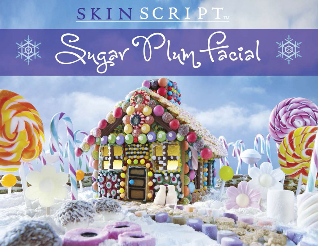 Sugar Plum Facial Poster